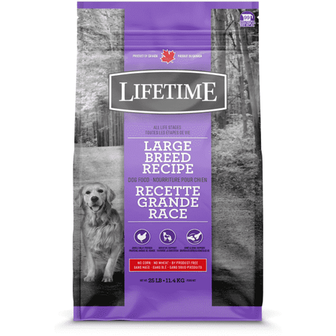 Lifetime Adult Dog Food Large Breed Chicken