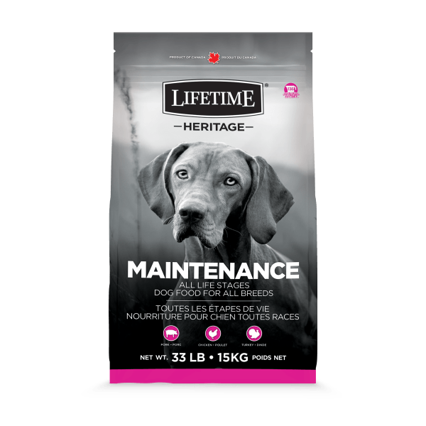 Lifetime Dog Food Heritage All Life Stages Maintenance  Dog Food - PetMax