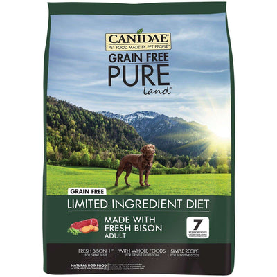 Canidae Dog Food Pure Land Grain Free Bison, Dog Food, Canidae Pet Foods - PetMax Canada