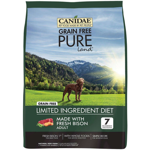 Canidae Dog Food Pure Land Grain Free Bison, Dog Food, Canidae Pet Foods - PetMax
