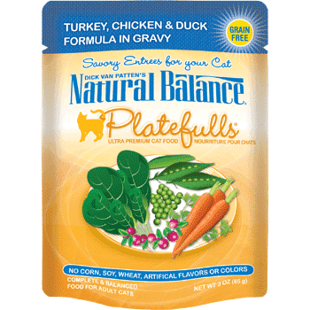 Natural Balance Platefulls Turkey & Chicken Cat Food | Canned Cat Food -  pet-max.myshopify.com