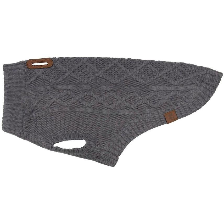 RC Dog Clothing Cable Knit Sweater Charcoal | Dog Clothing -  pet-max.myshopify.com