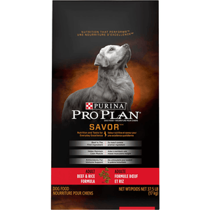 Pro Plan Dog Food Savor Adult Beef & Rice | Dog Food -  pet-max.myshopify.com