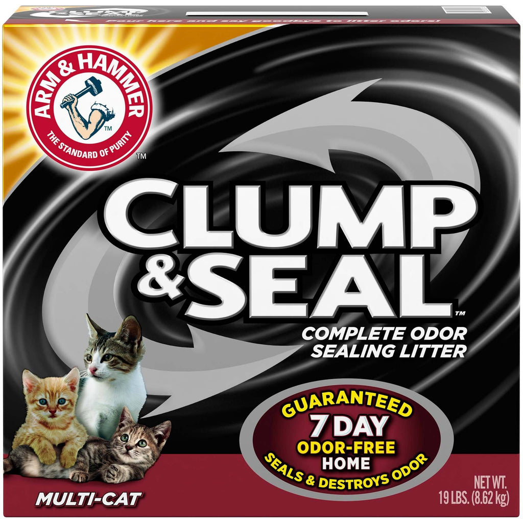 Arm & Hammer Clump & Seal Multi Cat [variant_title] [option1] | Cat Litter Arm & Hammer -  pet-max.myshopify.com