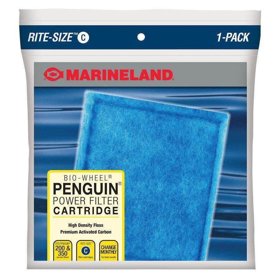 Marineland Penguin Rite-Size Cartridge C Single Filters - PetMax