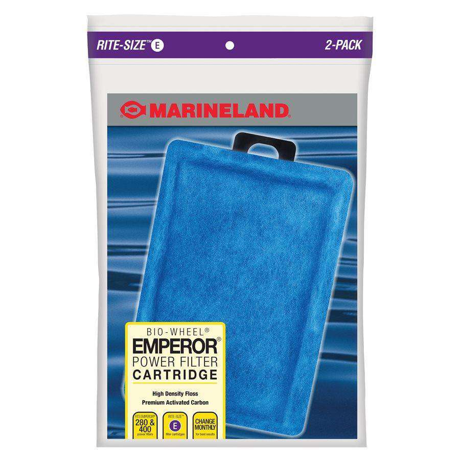 Marineland Emporer Rite-Size Cartridge E 2-Pack Filters - PetMax