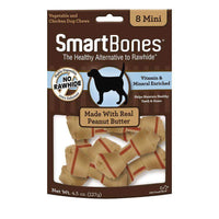 Smart Bones Dog Chews Peanut Butter Mini Dog Treats - PetMax