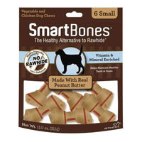 Smart Bones Dog Chews Peanut Butter Small Dog Treats - PetMax