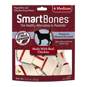 Smart Bones Dog Chews Chicken Medium Dog Treats - PetMax