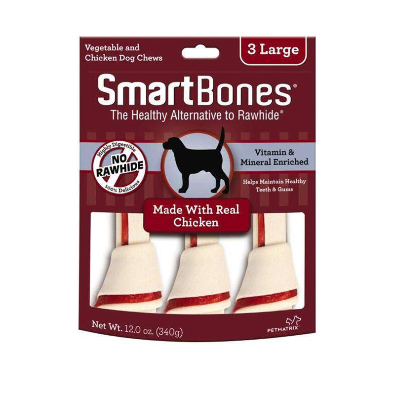 Smart Bones Dog Chews Chicken Large Dog Treats - PetMax