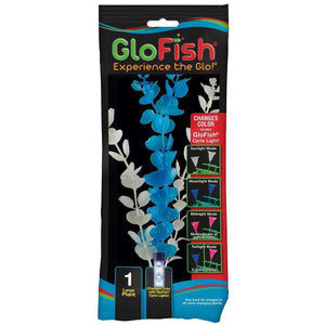 GloFish Colour Changing Plant Large Blue  Aquarium Accessories - PetMax