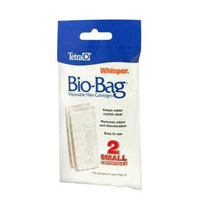 Tetra Whisper Bio-Bag Cartridge Small 2 Pack Filters - PetMax