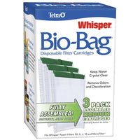 Tetra Whisper Bio-Bag Cartridge Medium 3 Pack Filters - PetMax