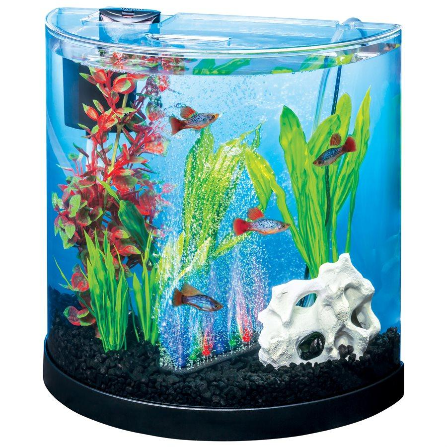 Tetra ColourFusion Half Moon 2C Aquarium Kit 3 Gallons | Aquarium -  pet-max.myshopify.com