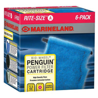 Marineland Penguin Rite-Size Cartridge A 6-Pack Filters - PetMax