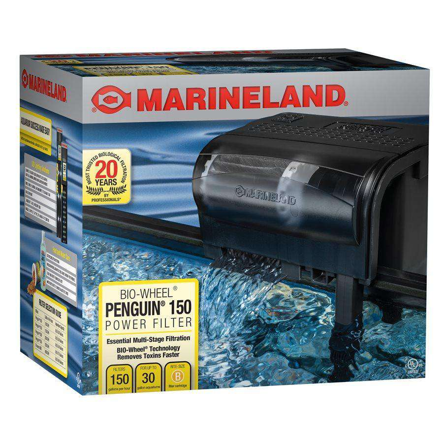 Marineland Penguin 150 GPH Power Filter 20 - 30 Gallons  Filters - PetMax