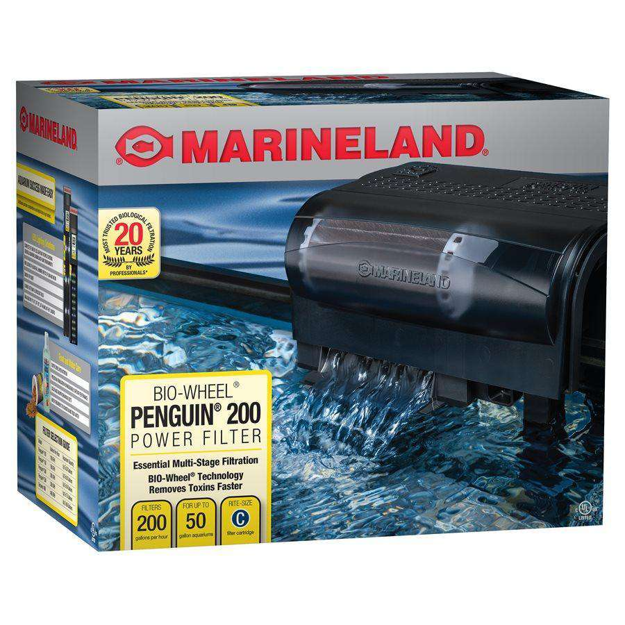 Marineland Penguin 200 GPH Power Filter 30 - 50 Gallons  Filters - PetMax