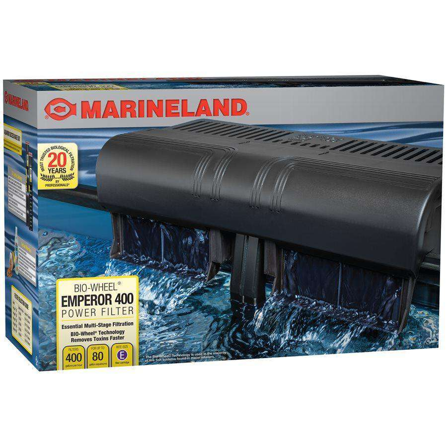 Marineland Emperor 400 GPH Power Filter 50 - 80 Gallons | Filters -  pet-max.myshopify.com