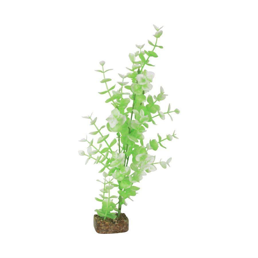 GloFish Plant Large Green White | Aquarium Accessories -  pet-max.myshopify.com