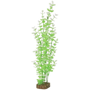 GloFish Plant Extra Large Green White Aquarium Accessories [variant_title] [option1] - PetMax.ca