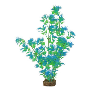 GloFish Plant Extra Large Green Blue  Aquarium Accessories - PetMax