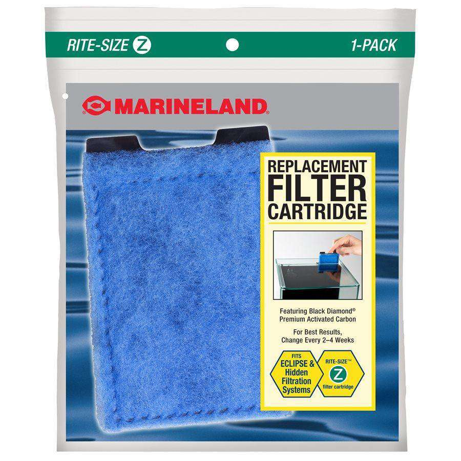 Marineland Eclipse Rite-Size Cartridge Z Single Filters - PetMax