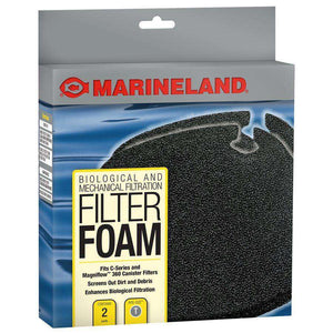 Marineland C-Series Canister Filter Foam PC 360 2-Pack  Filters - PetMax