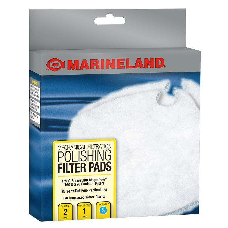 Marineland C-Series Canister Filter Polishing Filter Pads PC 160-220 2-Pack  Filters - PetMax