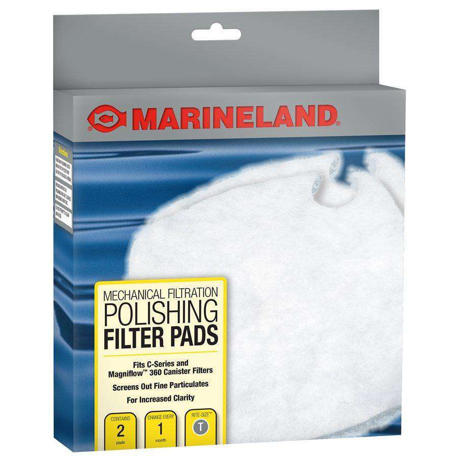 Marineland C-Series Canister Filter Polishing Filter Pads PC 360 2-Pack  Filters - PetMax