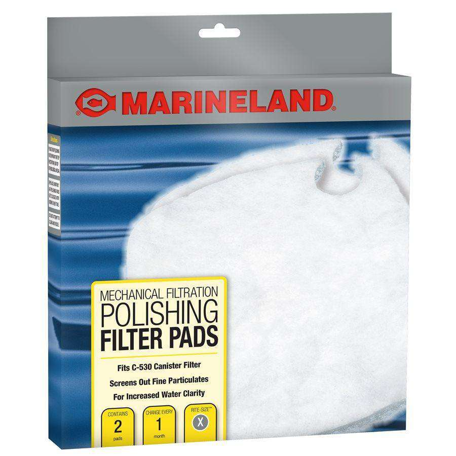 Marineland C-Series Canister Filter Polishing Filter Pads PC 530 2-Pack  Filters - PetMax