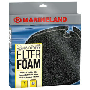 Marineland C-Series Canister Filter Foam PC 530 2-Pack  Filters - PetMax
