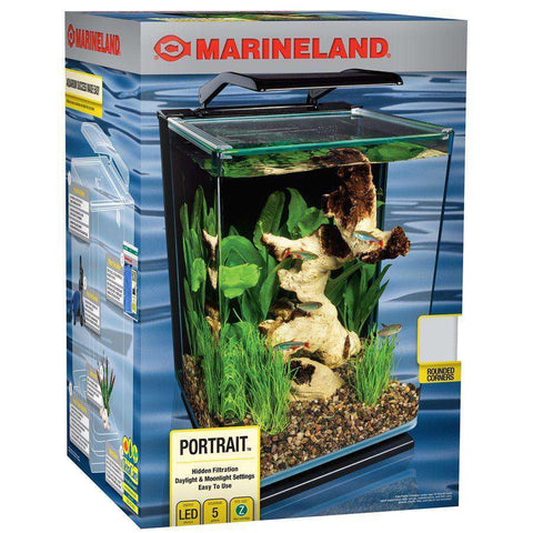 Marineland Portrait Blade Light Aquarium Kit 5 Gallons