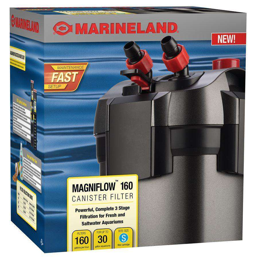 Marineland Magniflow 160 Canister Filter up to 30 Gallons  Filters - PetMax