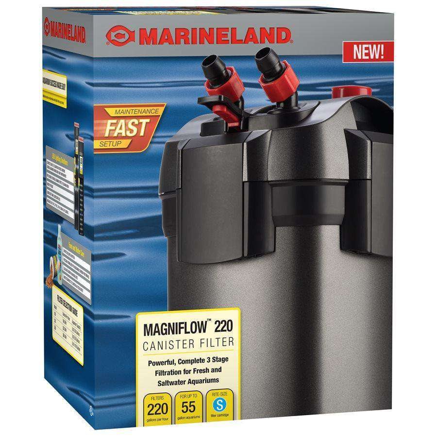 Marineland Magniflow 220 Canister Filter up to 55 Gallons | Filters -  pet-max.myshopify.com