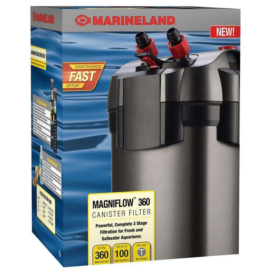 Marineland Magniflow 360 Canister Filter up to 100 Gallons  Filters - PetMax