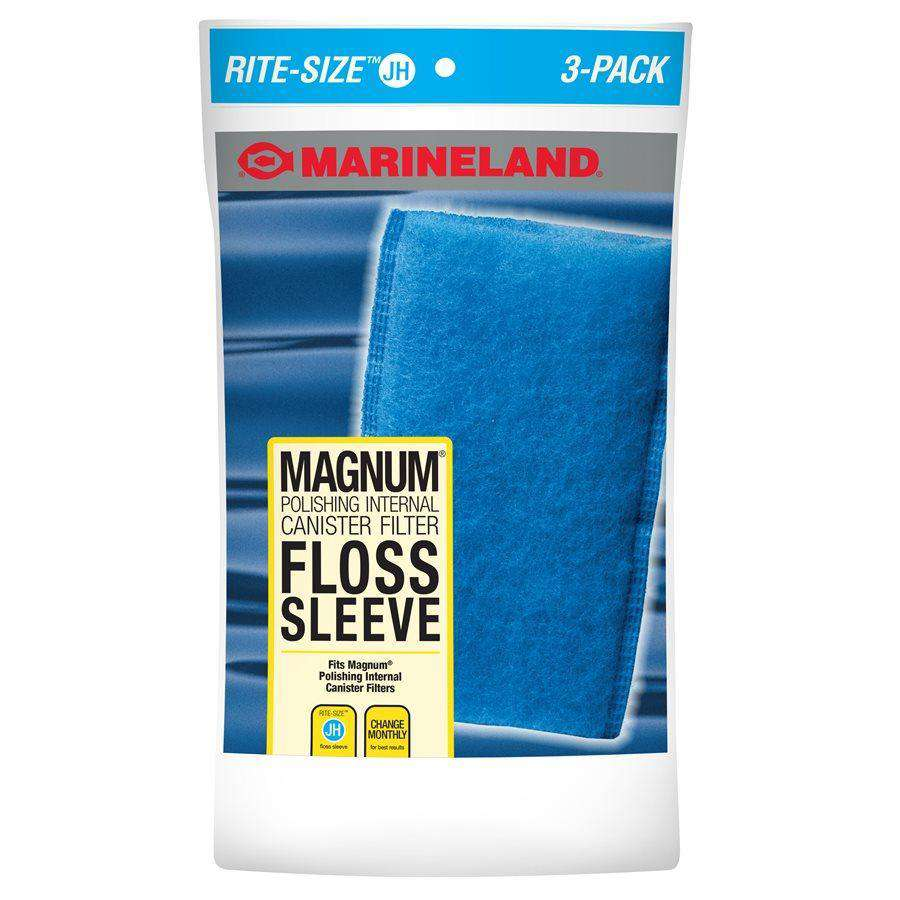 Marineland Rite-Size JH Floss Sleeve 3-Pack  Filters - PetMax