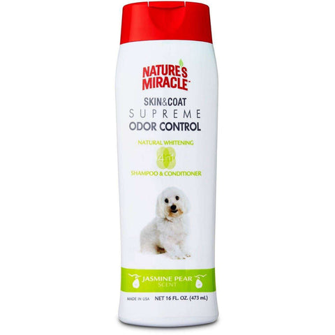 Nature's Miracle Odor Shampoo Whitening, Grooming, Nature's Miracle - PetMax
