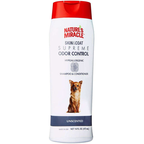 Nature's Miracle Odor Shampoo Hypoallergenic, Grooming, Nature's Miracle - PetMax