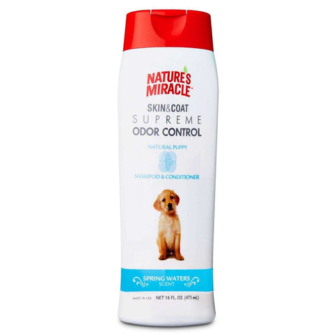 Nature's Miracle Odor Puppy Shampoo, Grooming, Nature's Miracle - PetMax