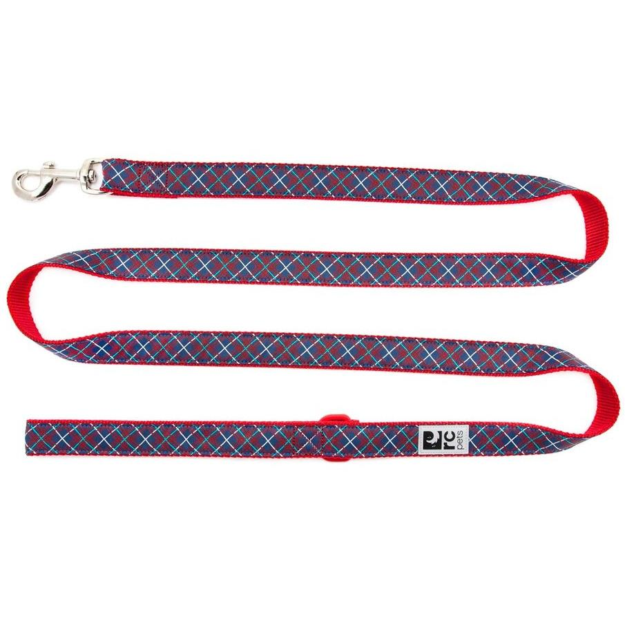 RC Dog Leash Navy Tartan  Leashes - PetMax