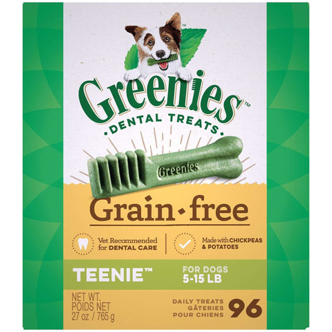 Greenies Grain Free Dental Treats Teenie, Dog Treats, Greenies - PetMax Canada