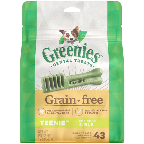 Greenies Grain Free Dental Treats Teenie, Dog Treats, Greenies - PetMax