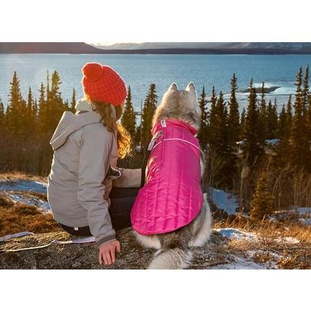 RC Dog Clothing Stratus Puffer Jacket Rose  Dog Clothing - PetMax