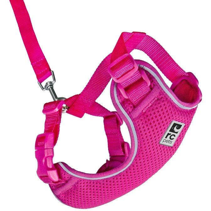 RC Kitty Adventure Harness Raspberry  Cat Harness - PetMax