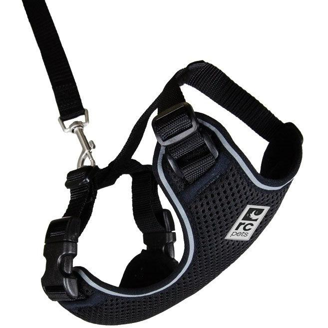 RC Kitty Adventure Harness Black  Cat Harness - PetMax