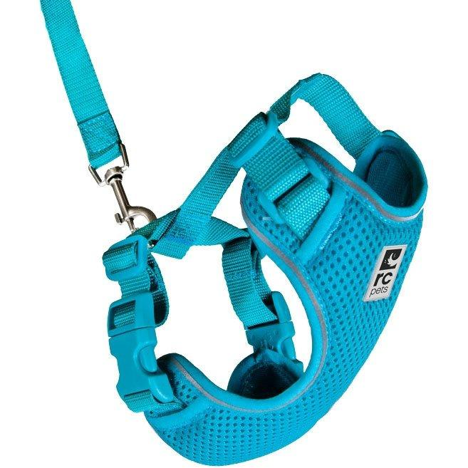 RC Kitty Adventure Harness Teal  Cat Harness - PetMax