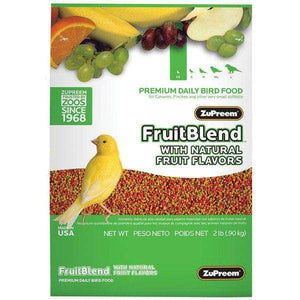 Zupreem Fruit Blend Canary / Finch, Bird Food, Zupreem Premium Nutritional Product - PetMax Canada