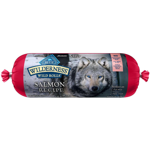 Blue Wilderness Wild Rolls Salmon, Canned Dog Food, Blue Buffalo Company - PetMax
