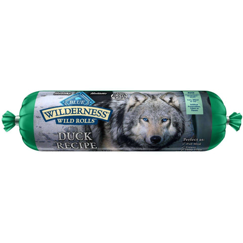 Blue Wilderness Wild Rolls Duck, Canned Dog Food, Blue Buffalo Company - PetMax