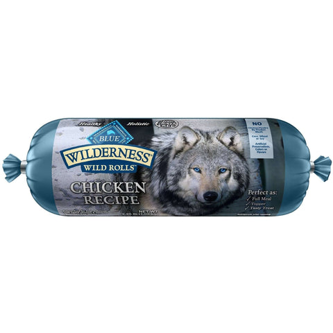 Blue Wilderness Wild Rolls Chicken, Canned Dog Food, Blue Buffalo Company - PetMax